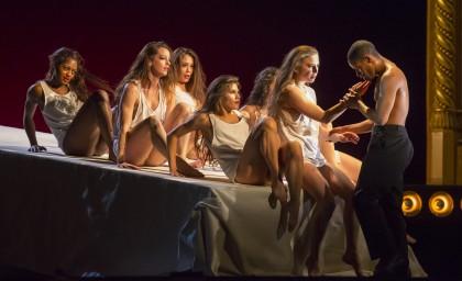 "сцена из оперы ""Тангейзер"". Фото – Тодд Розенберг"