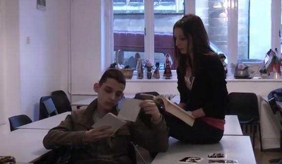 Снимка: Скрийншот от видео на Българското училище към посолството в Лондон
