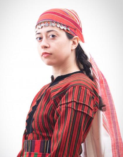 Анна в народна носия