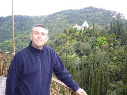 Гавраил Гавраилов при едно от своите пътешествия.