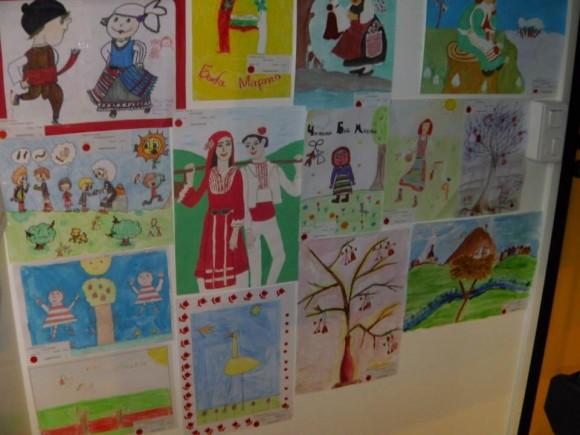 """Още творби от конкурса """"Баба Марта ;2015""""."""