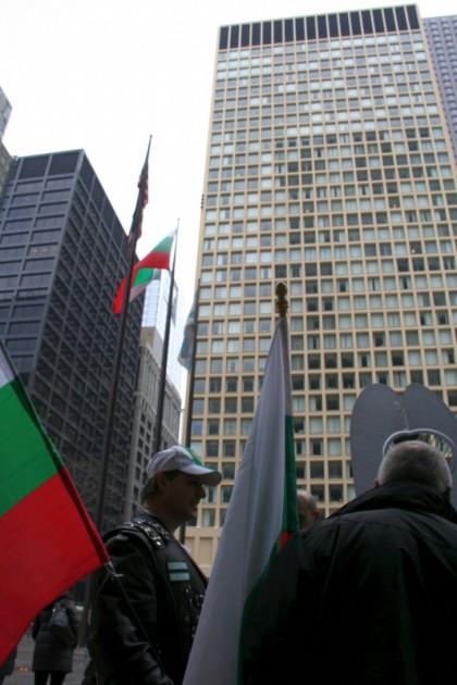 Момент от Българския ден в Чикаго през 2015 г.