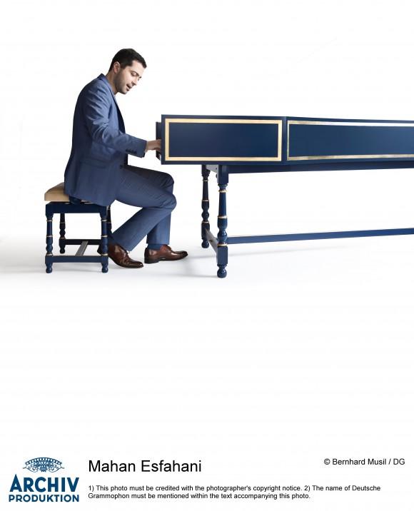 Махан Эсфахани. Фото – Bernhard Musil/Deutsche Grammophon