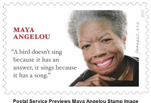 Новата пощенска марка. Снимка: United States Postal Service