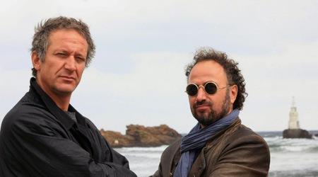 Деян Донков (вляво) и Стефан Вълдобрев в кадър от филма