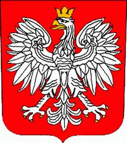 Стилизиран орел от полския герб