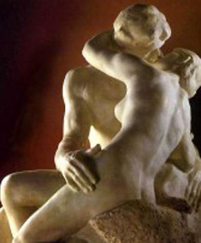 """Огюст Роден, """"Целувката"""""""