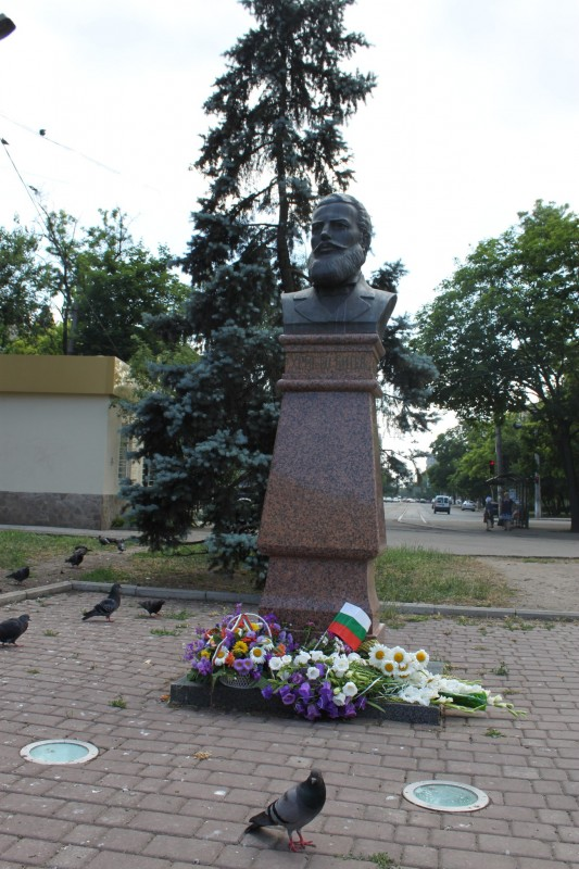 Паметникът на Христо Ботев в Одеса