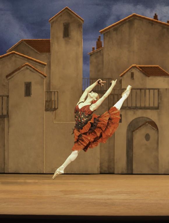 """Марианелла Нуньес в спектакле """"Дон Кихот"""". Фото – Йохан Перссон (2013 год)"""