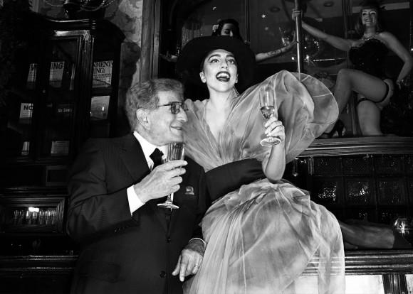 Тони Беннетт и Леди Гаги (Фото предоставлено пресс-службой фестиваля)