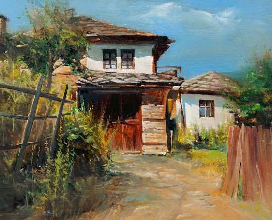 Илюстрация: Картина на художника Васил Василев – Васо, фрагмент
