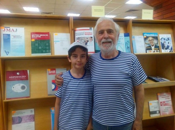 July 2015, Nikifor and George Chaldakovs, Adipobiology, Biomedical Reviews and other journals in the Library of Medical University, Varna