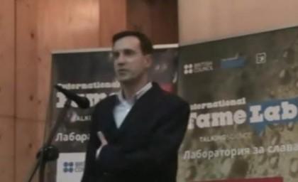 Райчин Рачев. Снимка: Скрийншот от видео на British Council Bulgaria