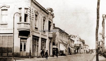 "Burgas, ul. ""Bogoridi '20s of the twentieth century. Source: LostBulgaria.com"