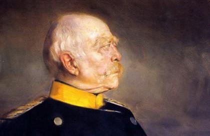 Ото фон Бисмарк, портрет