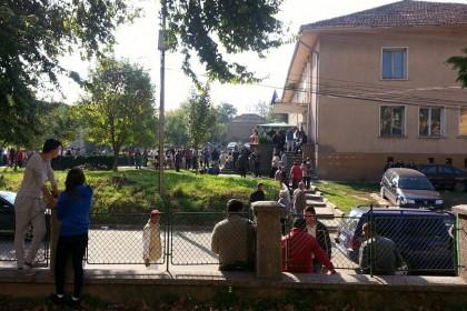 Избори в читалището в Лом. Снимка: Clubz.bg