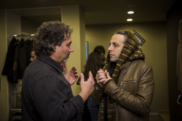 Лъчезар Думанов ( Изпълнителен директор Дигитален театър) и Мариус  Куркински