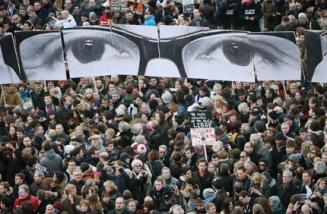 Антитерористично шествие в Париж. Снимка: svobodata.com
