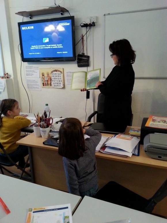 Милена Маташова представя своя книга на децата