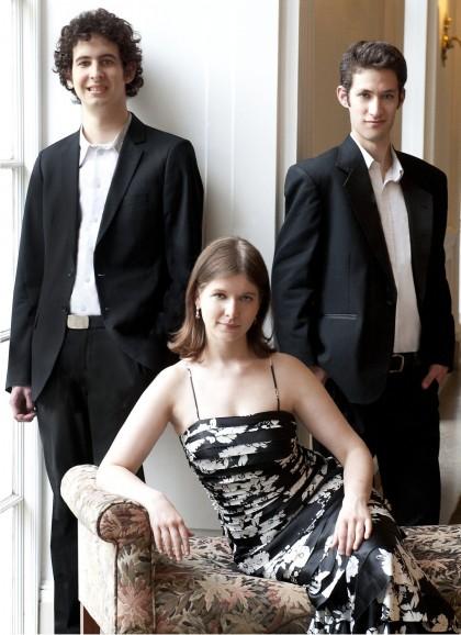 Участники Lysander Trio: Майкл Кац, Лиза Степанова, Итамар Зорман