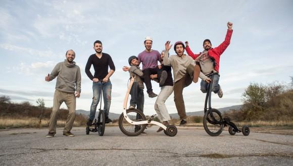 © Halfbike; Екипът на Halfbike II