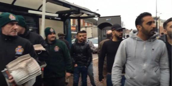 Снимка: Скрийншот от видео на Britain First