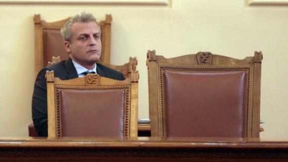 Петър Москов в парламента. Снимка: bTV