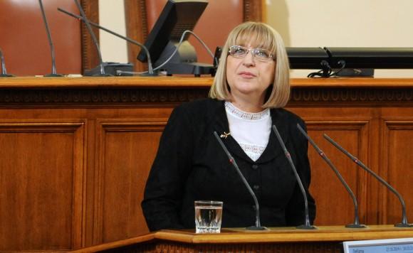 Цецка Цачева. Снимка:  Novini.bg