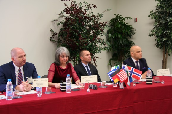 Отляво надясно: Румен Йончев, Маргарита Попова, Ангел Джамбазки, Симеон Стоилов