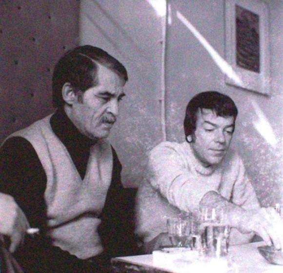 Георги Баев и Христо Фотев, от личния архив на адвокат Иво Баев – синът на Георги Баев