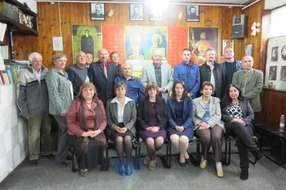 """Участници в сесията на конференцията в КИЦ """"Босилеград"""". Снимка: КИЦ """"Босилеград"""""""