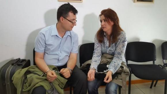 Валентина Джумбешлиева и Христо Костов в сцена от епизода