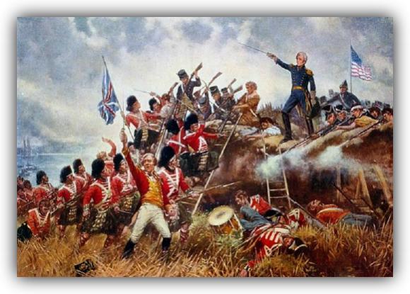 В началото на октомври 14 000 войници на Вашингтон обграждат британските укрепени позиции в Йорктаун
