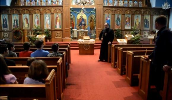 """В църквата """"Св. Николай"""" във Форт Уейн, Индиана"""