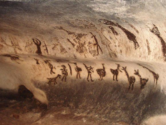 Магурата! Рисунки отпреди 12 хиляди години и до тях някои надписи от ХХ век...