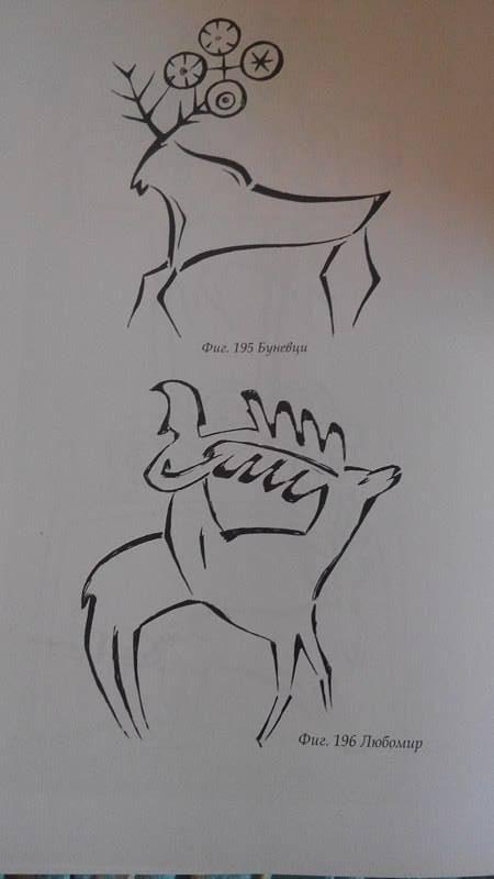 Фиг. 14. Елен с означени четирите равноденствия