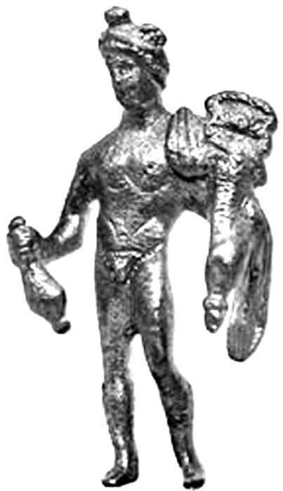 Фиг.17. Статуетка на Хермес от Добрич