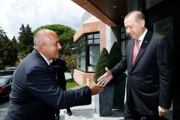 Борисов и Ердоган. Снимка: Фейсбук профил на Бойко Борисов