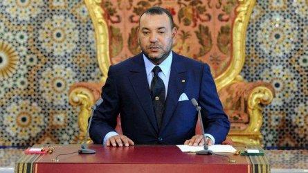 Кралят на Мароко Мохамед Шести. Снимка: БГНЕС