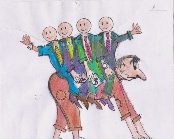 Карикатура: Краси Петров, Daniivanov.blogspot.bg