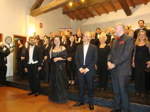 Концерт в чест на Никола Гюзелев в Парма