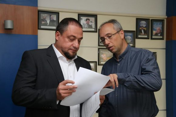 Камен Попов и Георги Неделчев. Снимка: БТА
