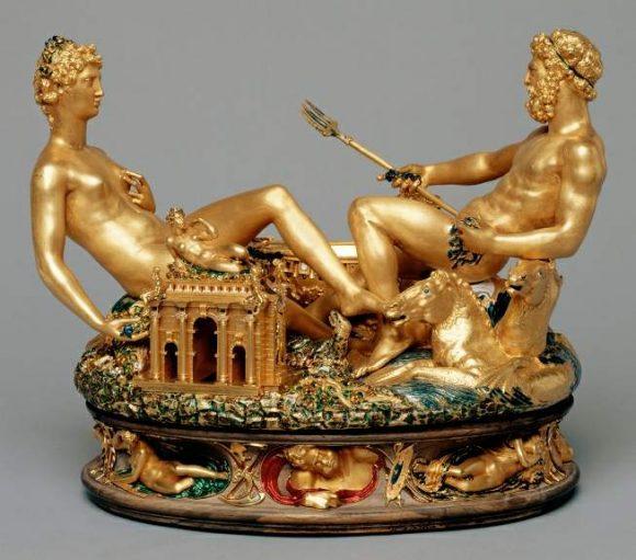 Посейдон и Амфитрита, 1540 г.- 1543 г. Челини Бенвенуто (1500–1571). Източник: sschool8.narod.ru