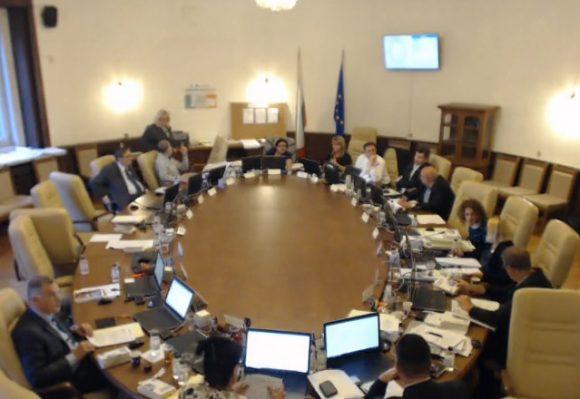 Момент от заседание на ЦИК. Снимка: Скрийншот от видеоархив на ЦИК