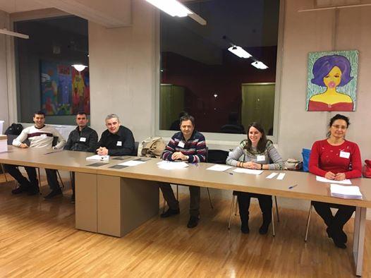 Изборната комисия в Амстердам. Снимка: Елица Йорданова