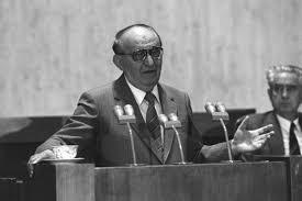 Тодор Живков на пленума, на който бе свален от власт