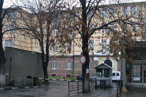Част от вътрешния двор на Централния софийски затвор. Снимка: Sofia Photo Agency