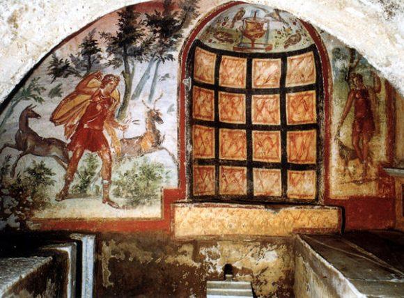 Фиг. 5 Подземен храм на тракийската богиня Котис http://www.sovraintendenzaroma.it/i_luoghi/roma_antica/monumenti/ipogeo_di_via_livenza