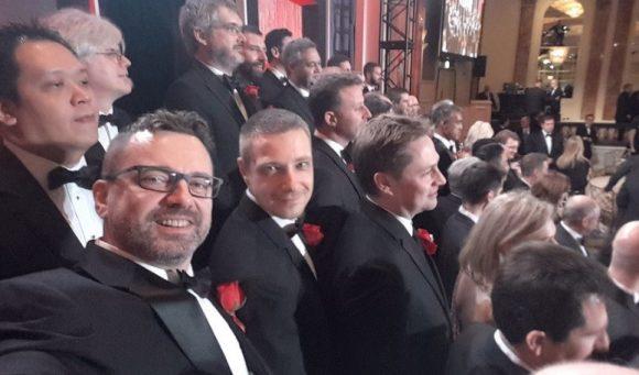 Петър Митев и Владимир Койлазов сред други участници в церемонията на технологичните Оскари.