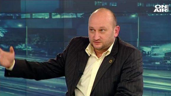 Христо Радков в студиото на ТВ България он